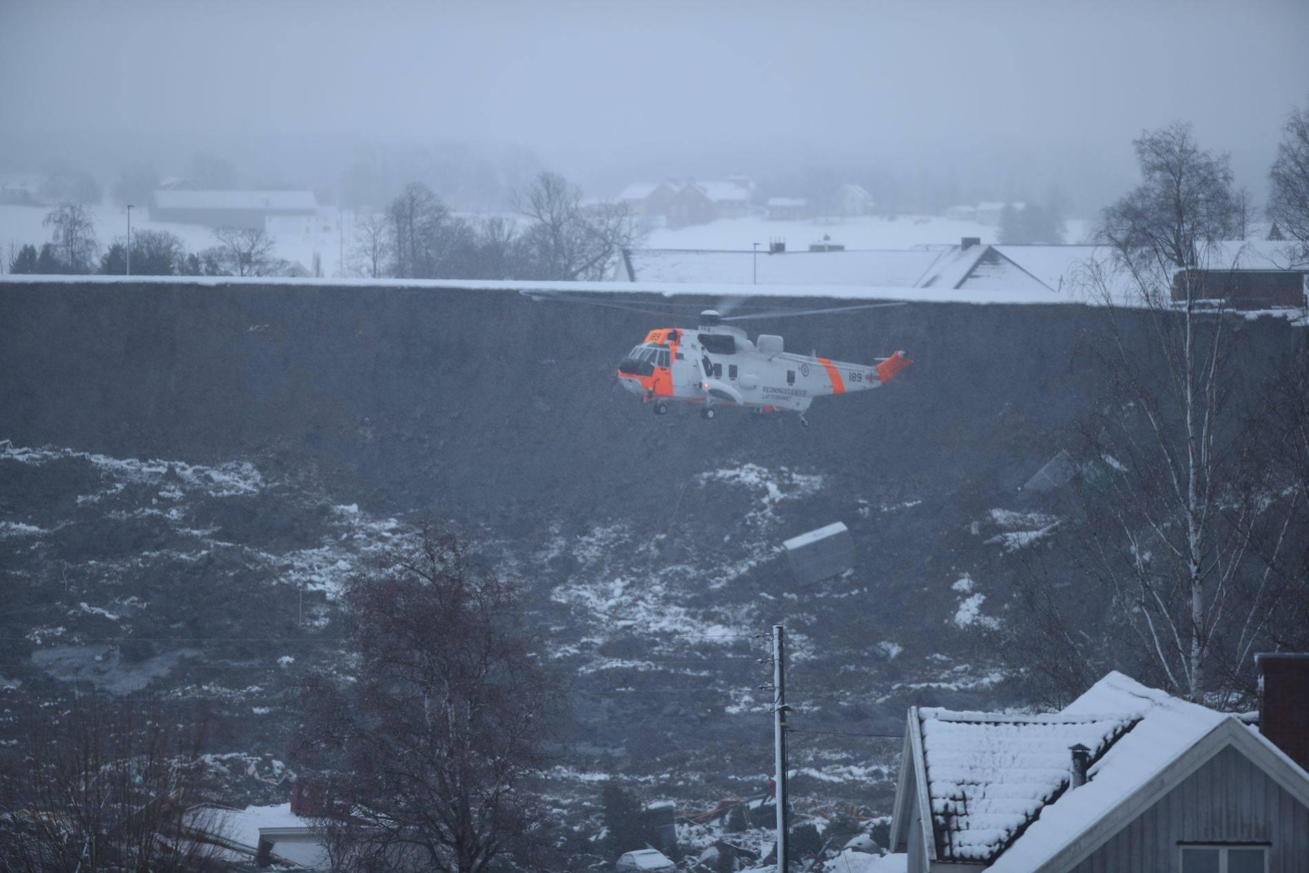 Для эвакуации жителей использовали вертолеты