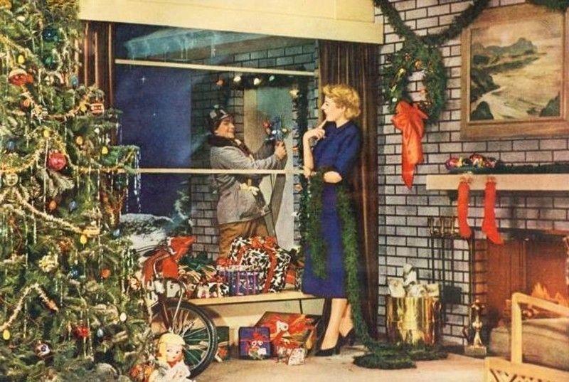 Рождество в США, 1950-е