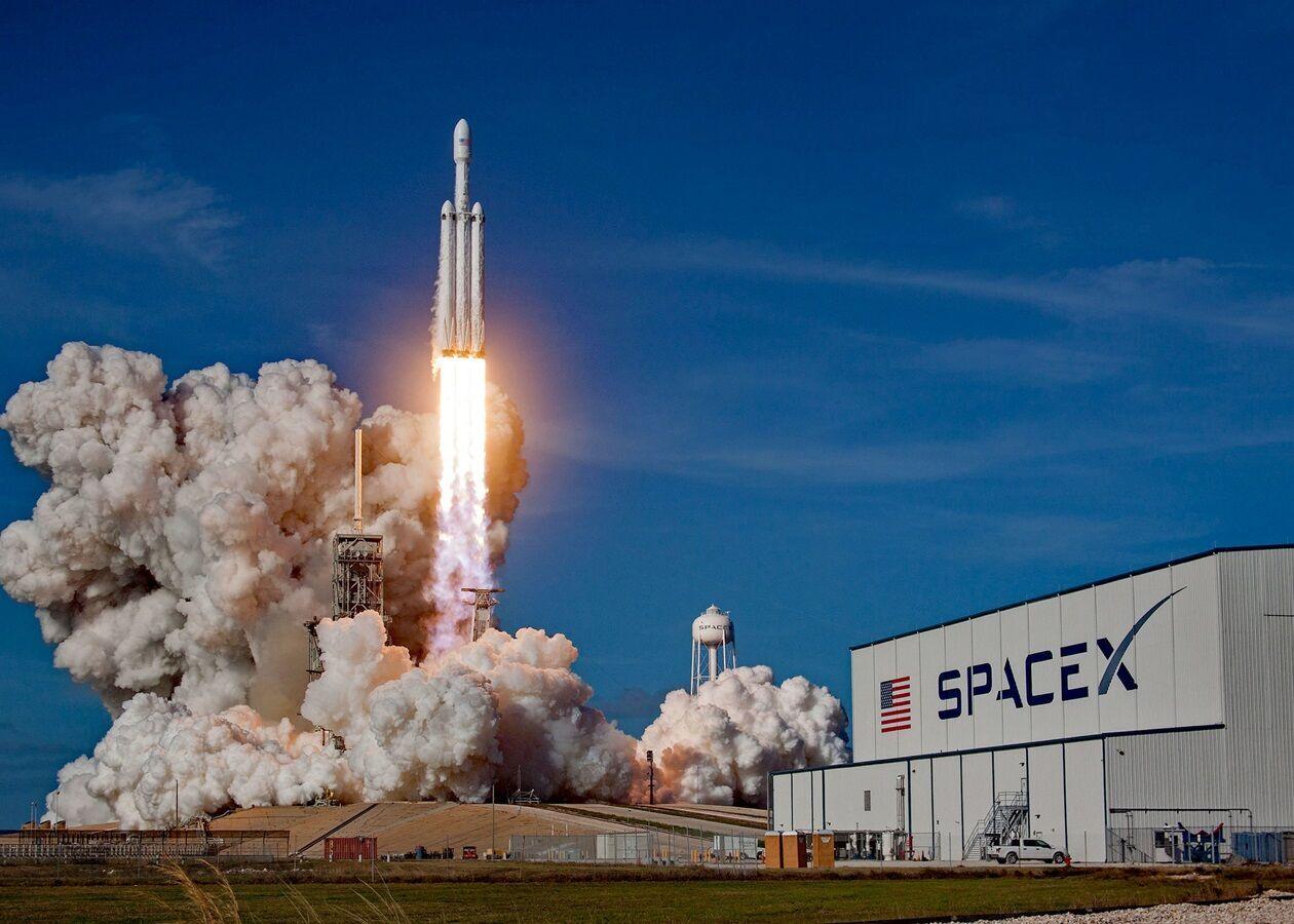 Запуск ракети Ілона Маска