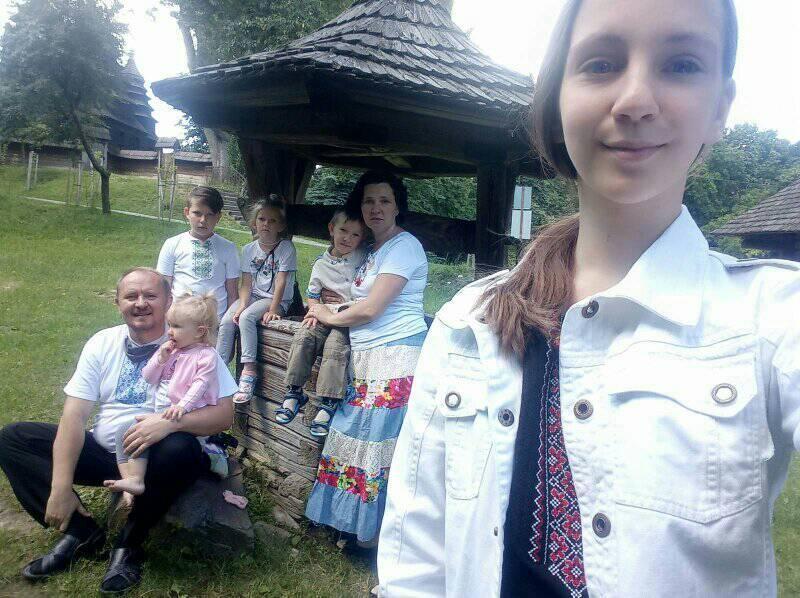Семья Петра и Катерины Терлецких