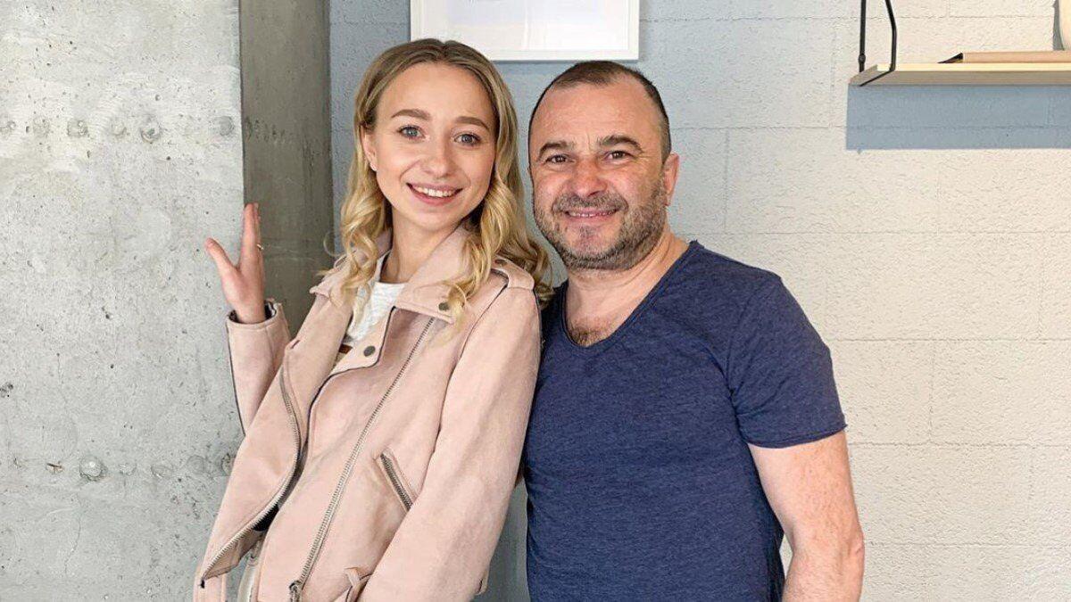 Виктор Павлик с женой Екатериной
