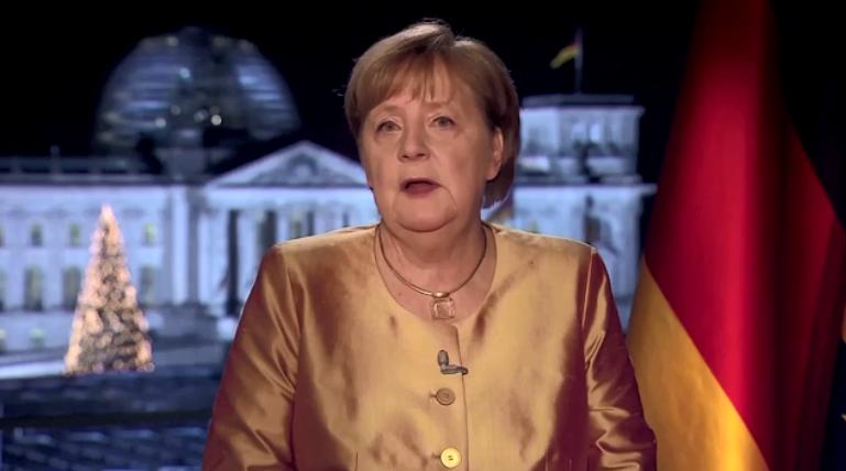 Ангела Меркель в последний раз поздравила немцев с Новым годом в должности канцлера.