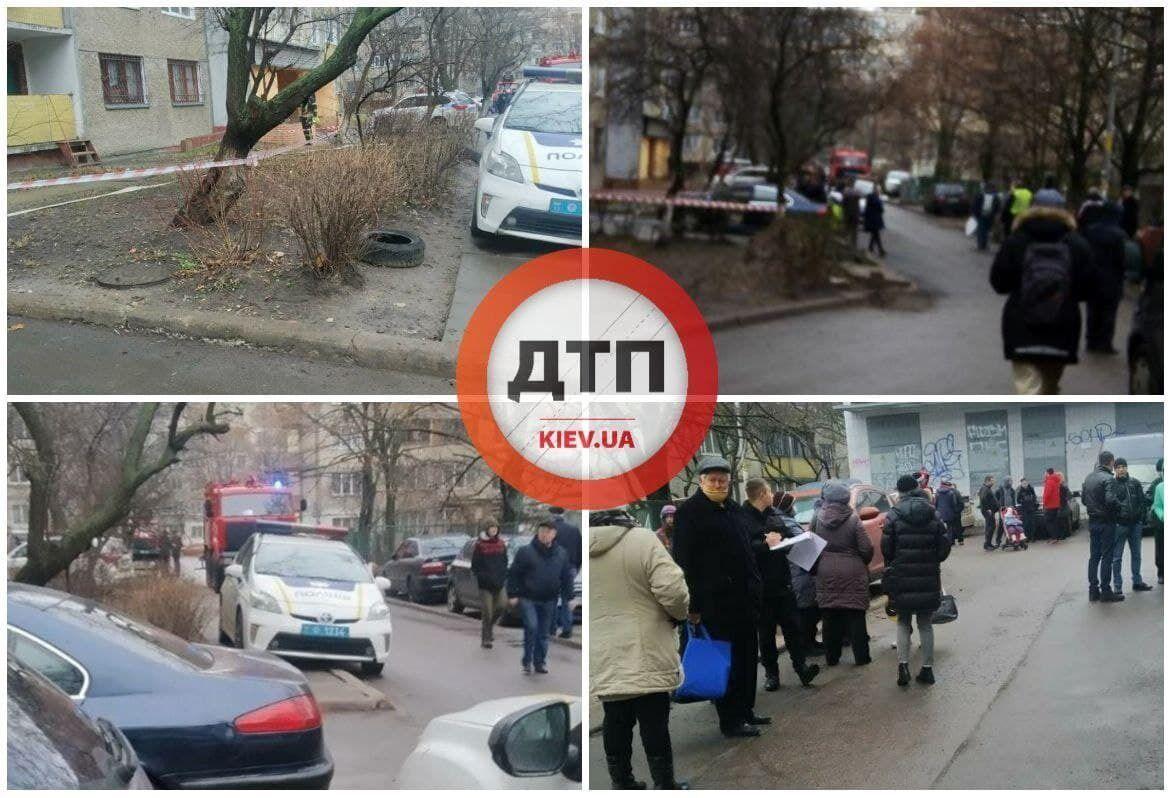 Правоохоронці евакуювали мешканців будинку