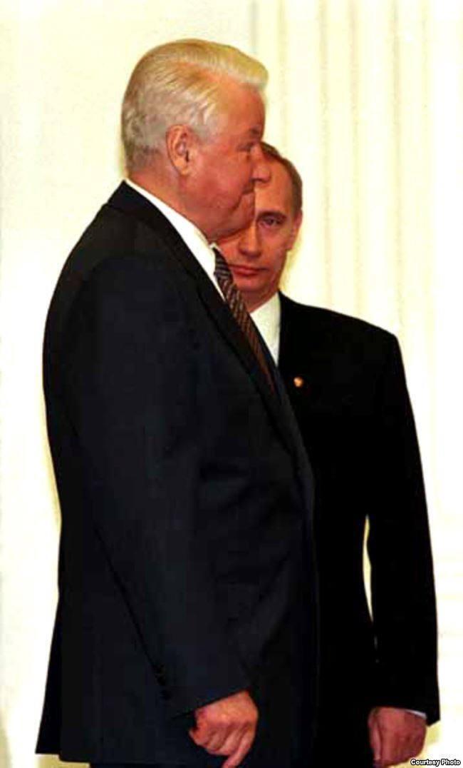 Борис Ельцин передал Власть Владимиру Путину