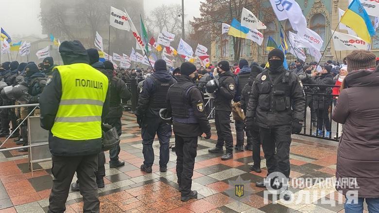 Поліція посилила охорону у ВР