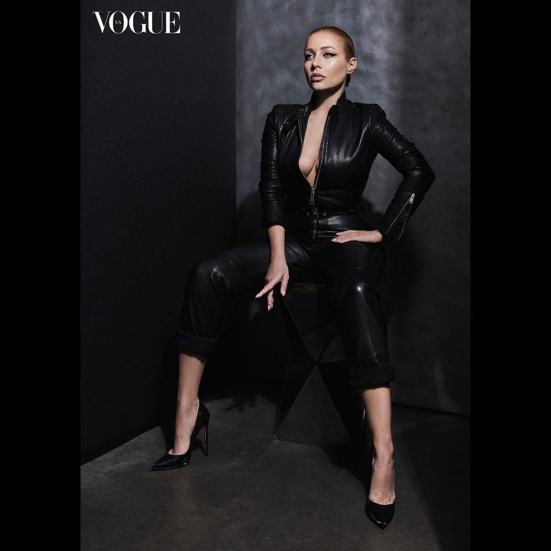 Тина Кароль позировала для Vogue