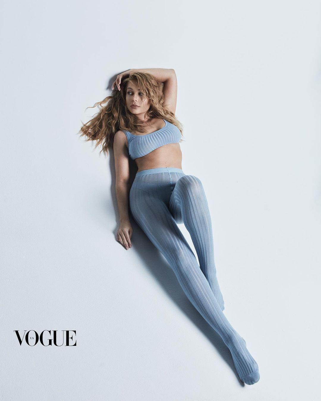 Тіна Кароль у провокаційній фотосесії для Vogue