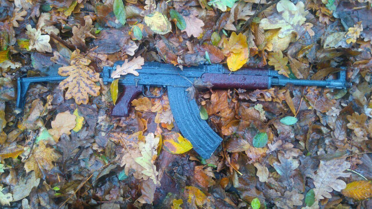 Зброя, яку було знайдено на місці злочину