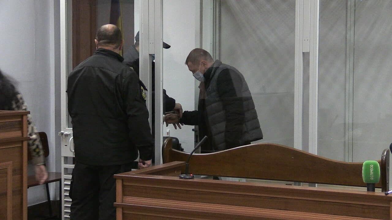 Ігор Редькін у суді