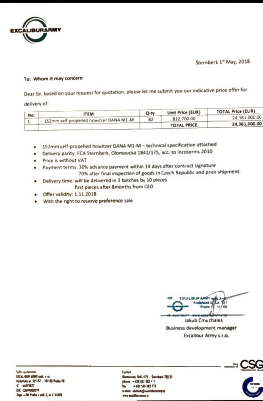 Питання закупівлі САУ Дана-М2: чому угода виявилася проблемною
