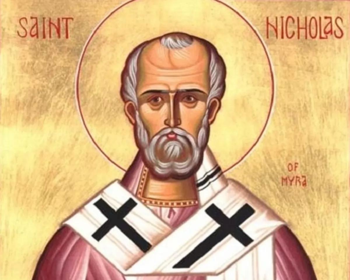 Святий Миколай Чудотворець жив в 3-4 століттях