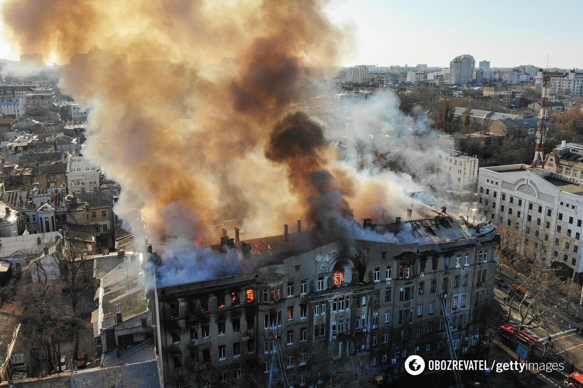 Пожар в одесском колледже, 4 декабря 2019 года