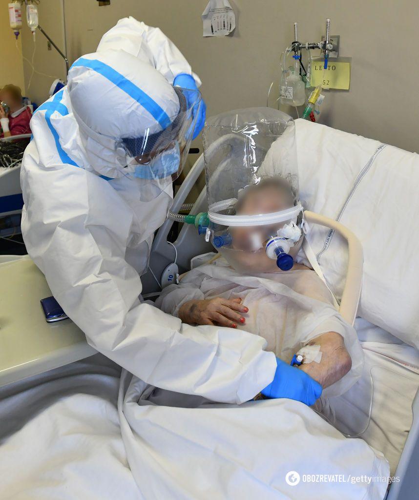 В больницах области больным не хватает кислорода
