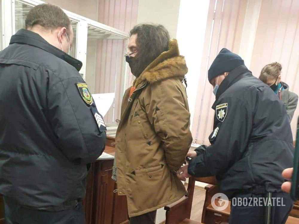 Александр Ктиторчук в зале суда