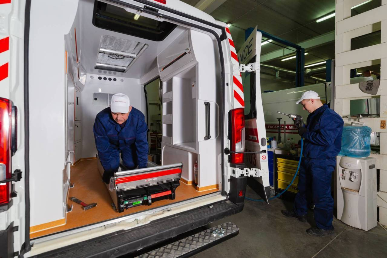 """""""Автоспецпром"""" є найбільшим українським виробником автомобілів швидкої медичної допомоги"""