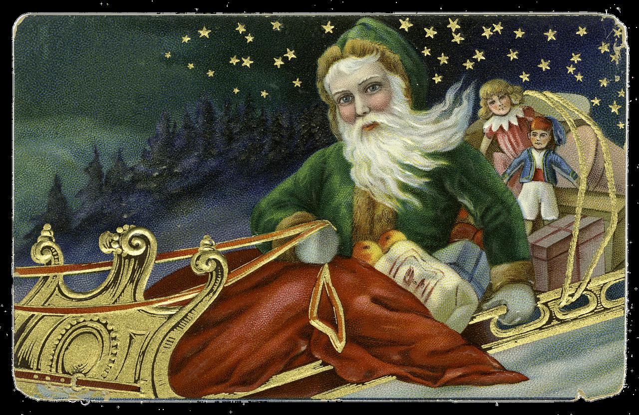Святий Миколай став прообразом Санта Клауса