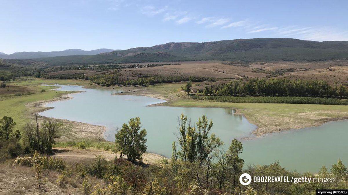 Аянское водохранилище раньше
