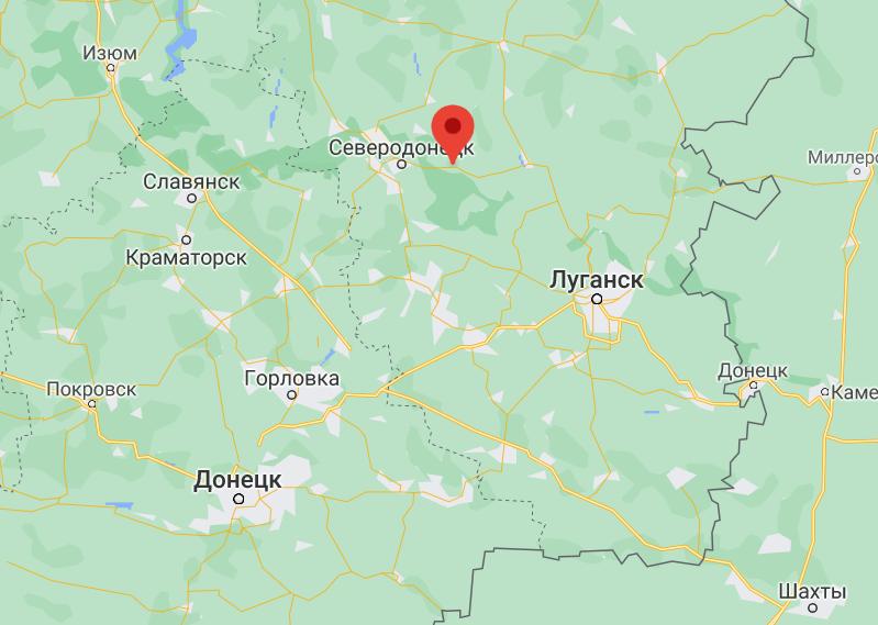 пгт Смоляниново в Луганской области.