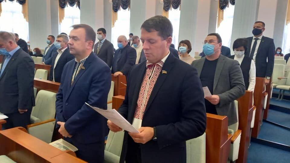 Роман Сущенко стал первым заместителем председателя Черкасского облсовета