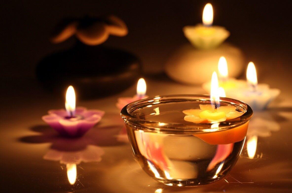 Гадание со свечами.