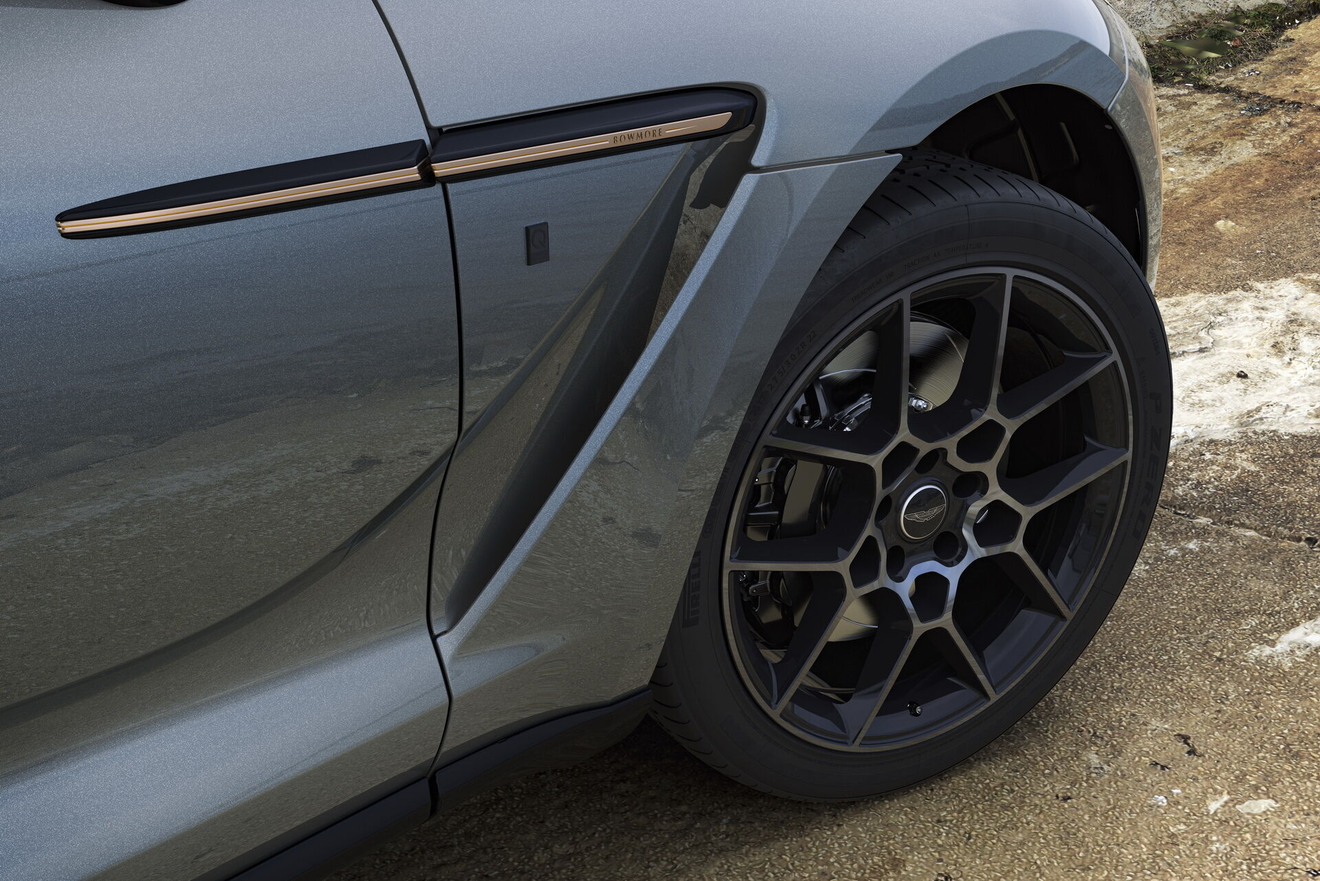 Aston Martin DBX Bowmore Edition отримав оригінальний малюнок легкосплавних дисків