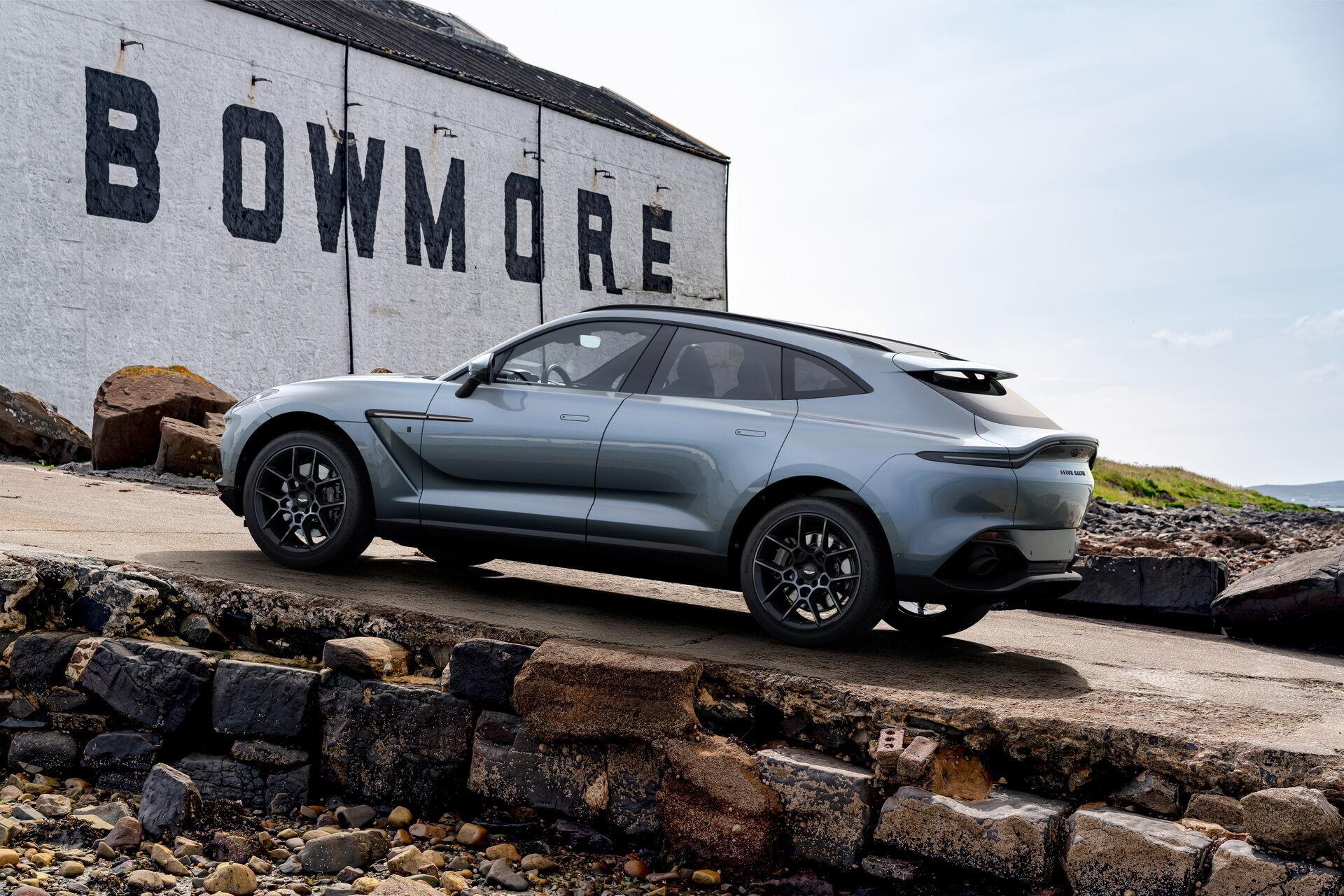 Aston Martin DBX Bowmore Edition створений фірмовим підрозділом Q by Aston Martin