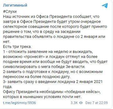 "Telegram ""Легетимный""."
