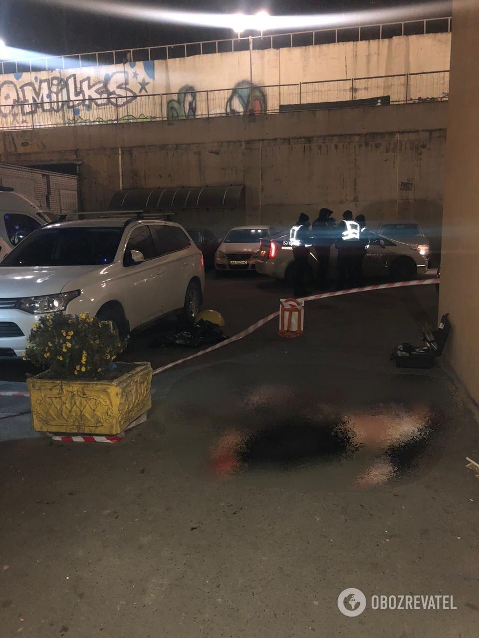 Чоловік загинув на місці події.