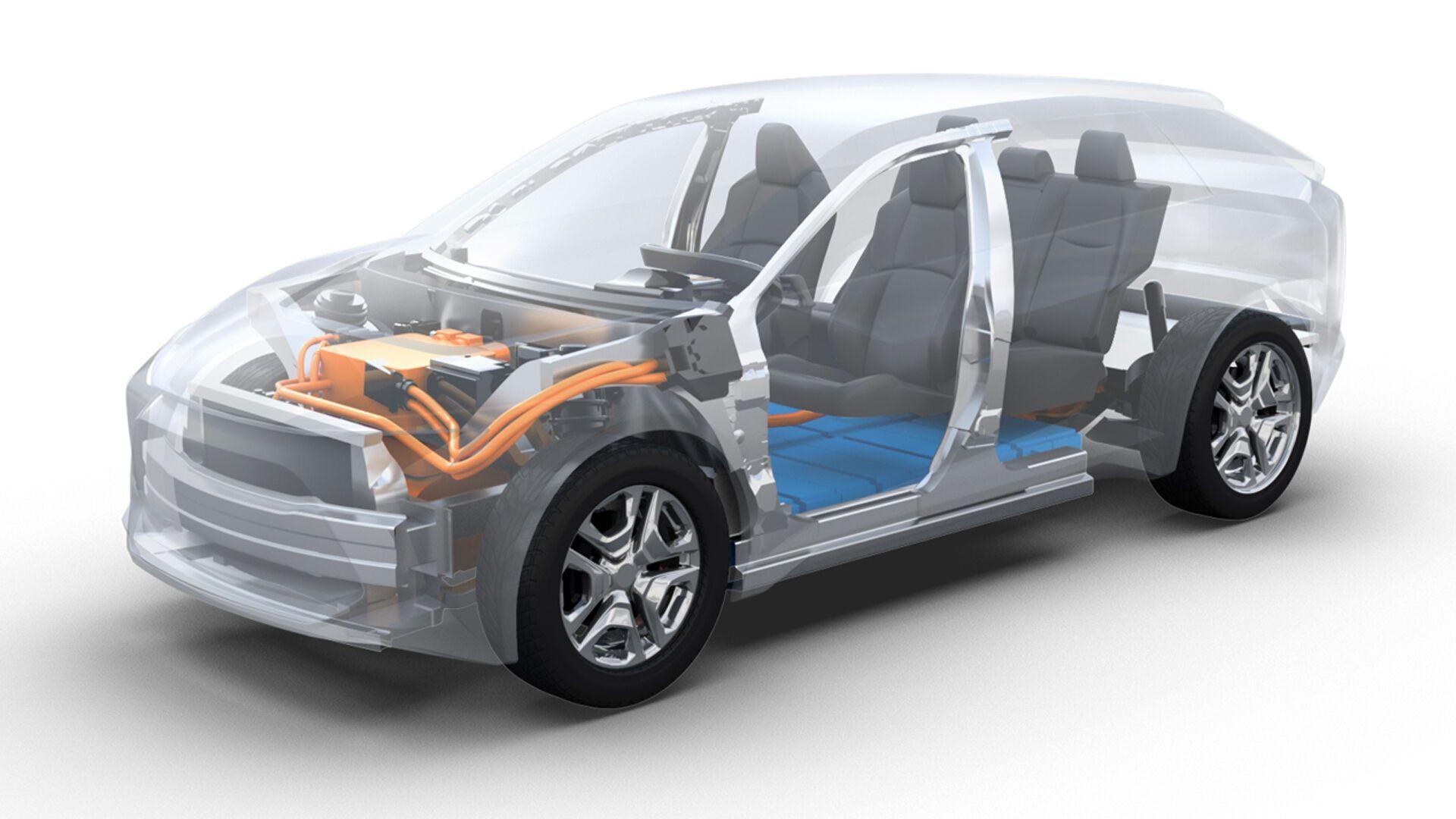 Среднеразмерный кроссовер Toyota будет использовать новую электрическую платформу e-TNGA