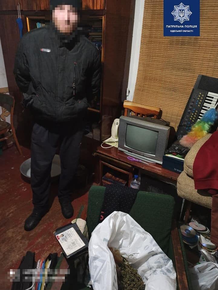 Зловмисник зізнався, що має вдома багато марихуани