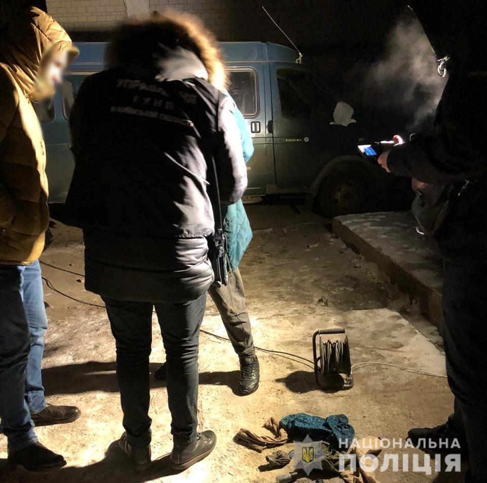 Всего задержано троих участников преступной группы из Барышевского района