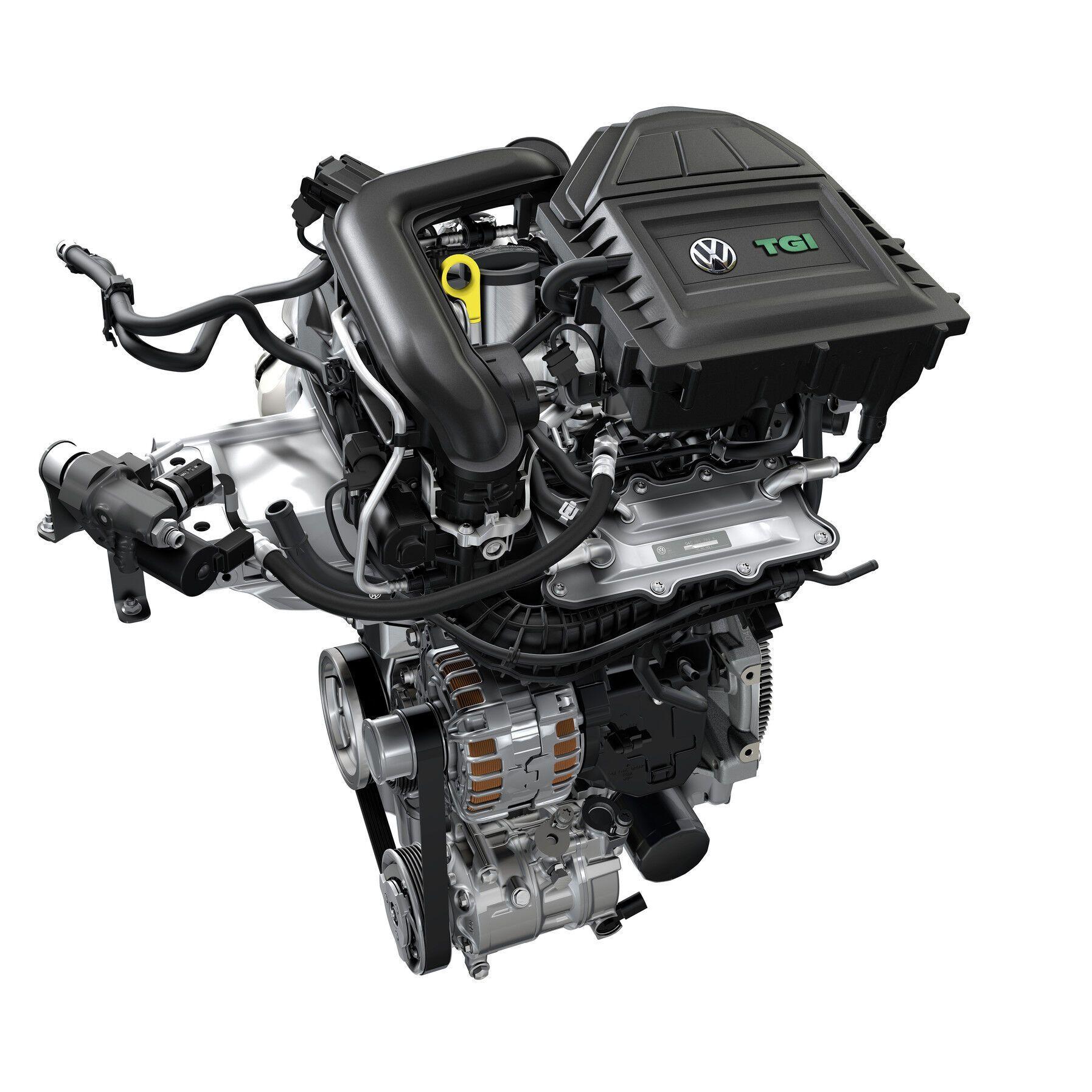 Мотор на основе TSI стал основой доя создания версии TGI для работы на газе