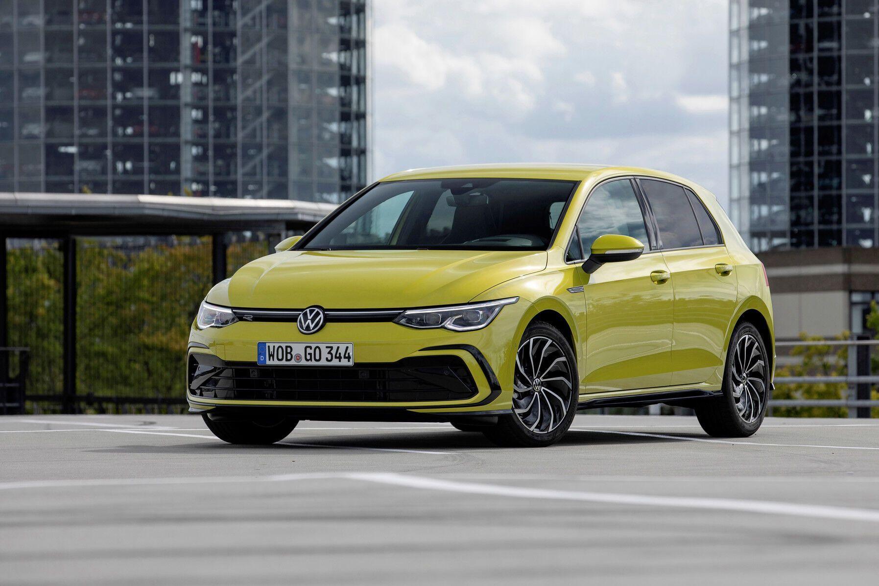 Volkswagen Golf 1.5 eTSI c технологией mild hybrid и бензиновым мотором TSI нового поколения