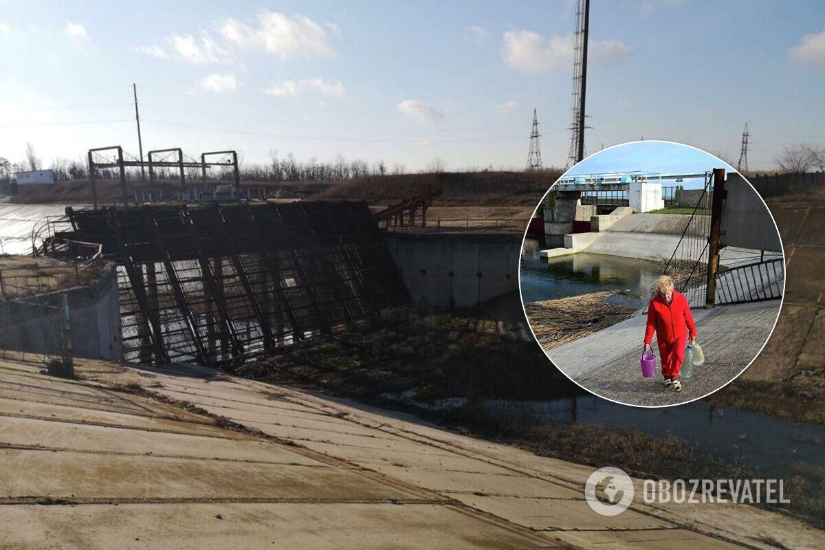 Крымчане говорят, что такой критической ситуации с водой у них еще не было
