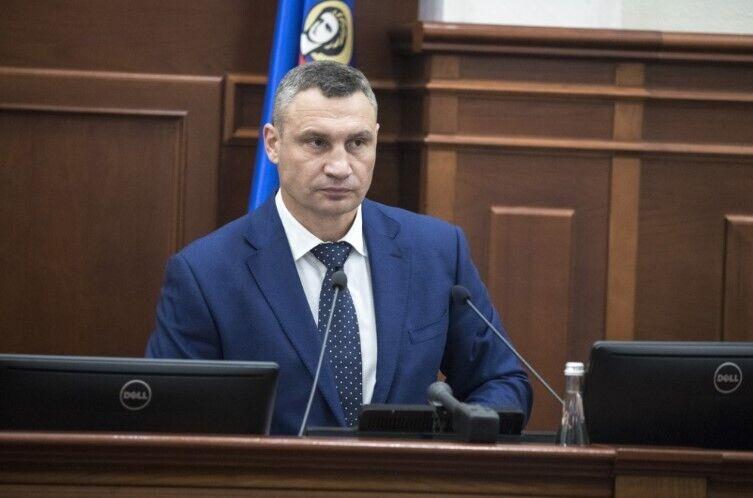 Кличко выступил на заседании Киевсовета