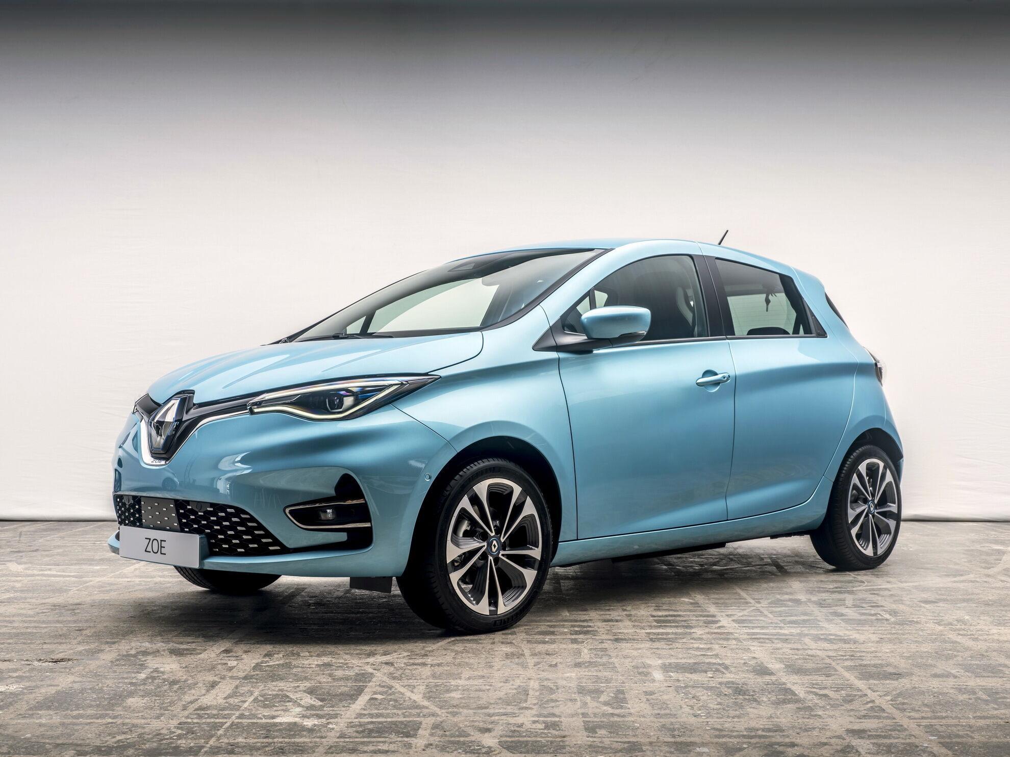 Renault Zoe цьогоріч придбали понад 84 тисячі європейців