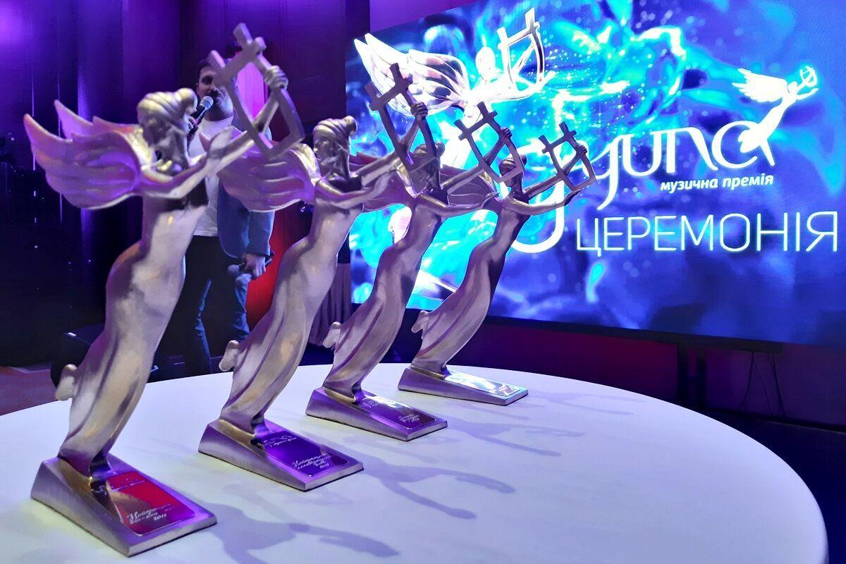 В Киеве состоится музыкальная премия YUNA