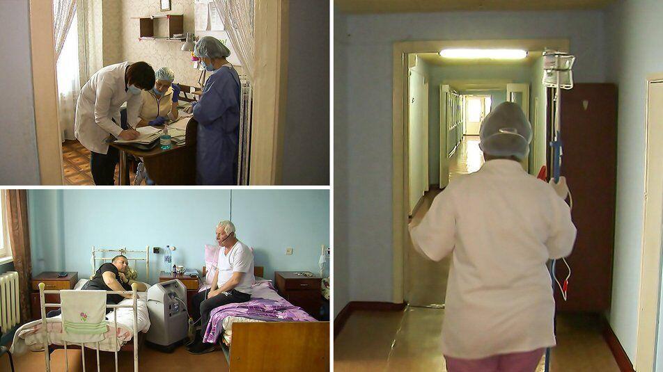 Лікарня в селищі Смоліне