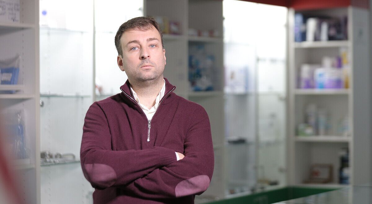 Украинский бизнесмен и блогер Алексей Давиденко