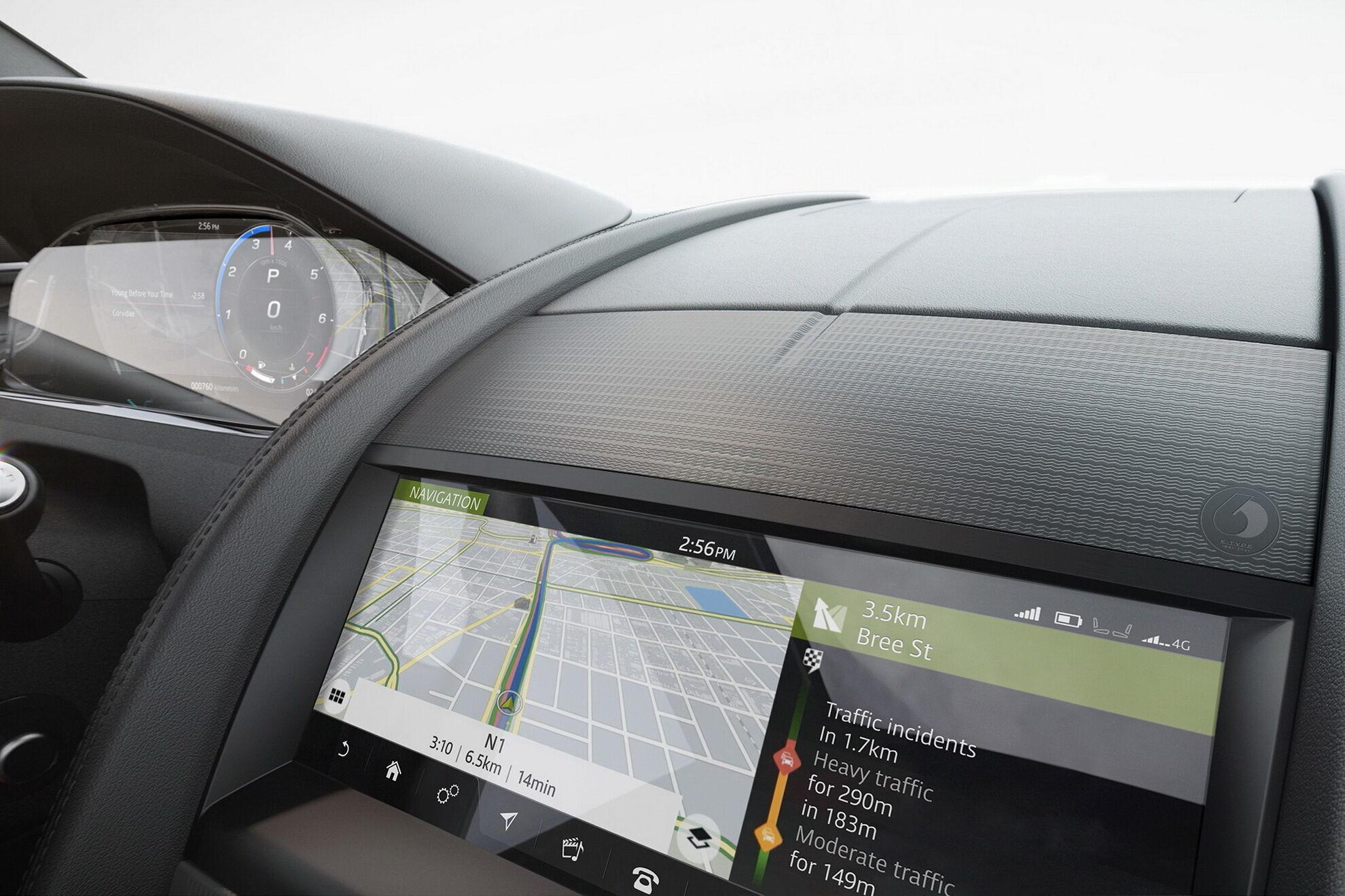 """Мультимедійна система Touch Pro підтримує Apple CarPlay та Android Auto, а також може оновлюватися """"по повітрю"""""""