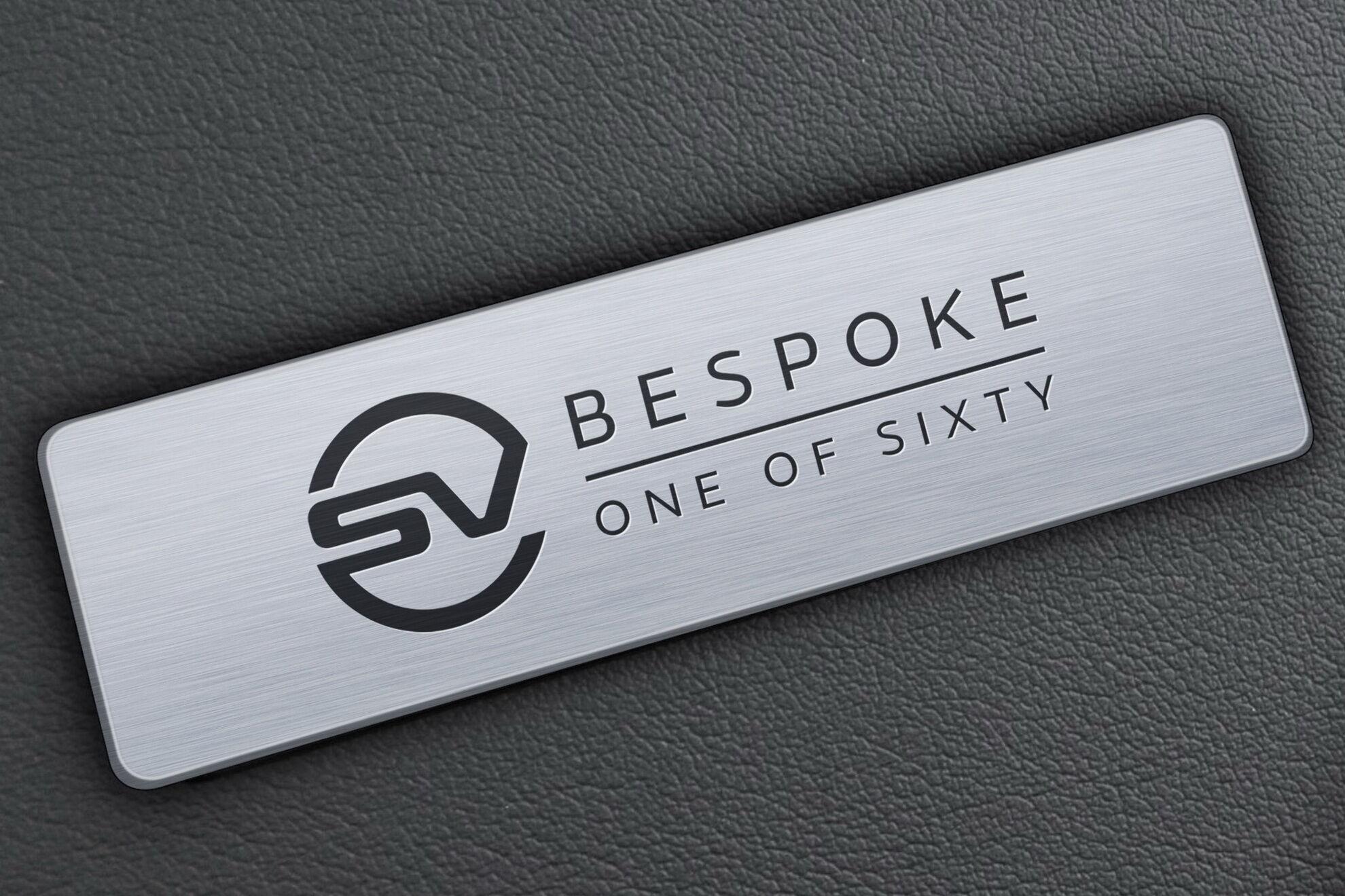 Салон прикрасять шильдики SV Bespoke