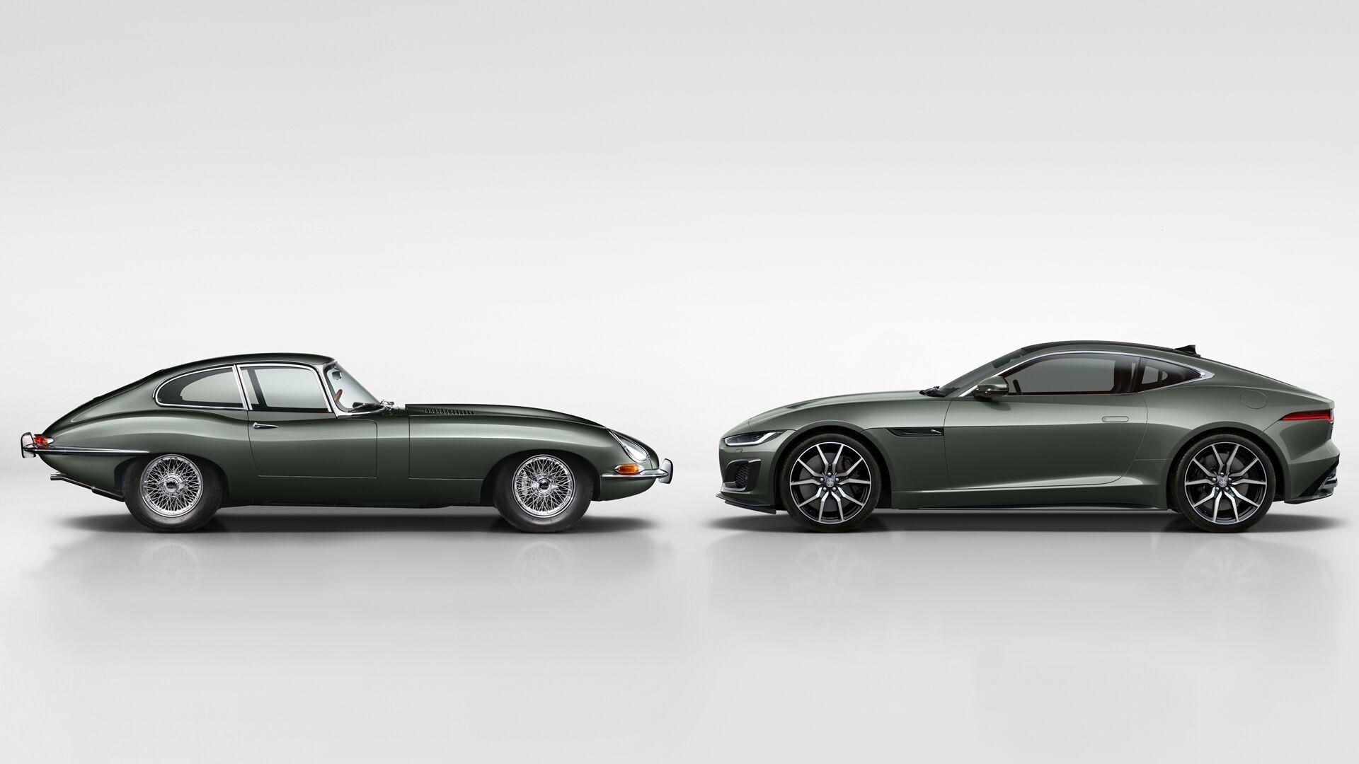 Jaguar Е-Type та його ідейний спадкоємець F-Type Heritage 60 Edition