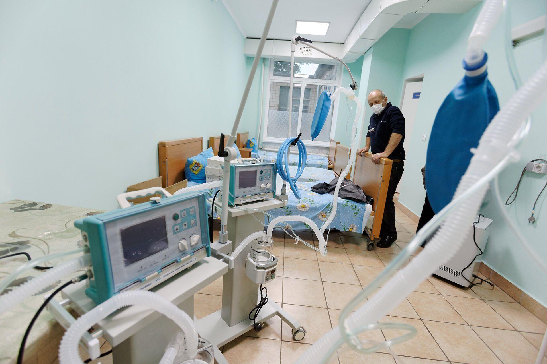Одна из одесских больниц, где лечат от коронавируса