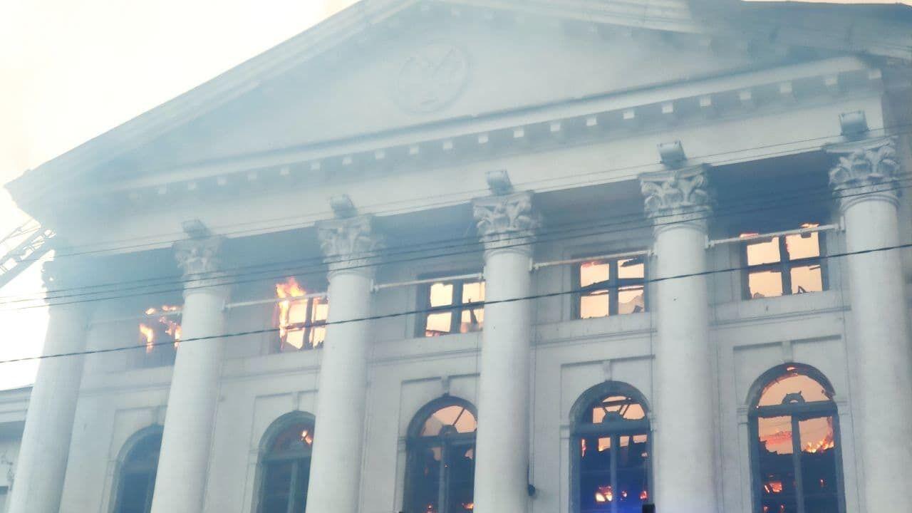 Дом дворянского собрания в Полтаве