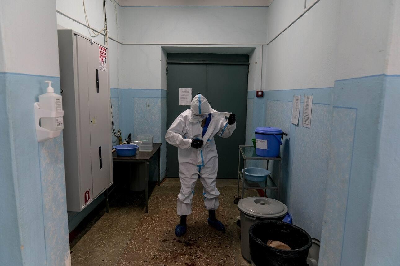 Украинские врачи не скрывают, что работают на грани
