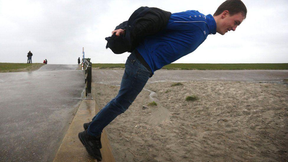 Руйнівний ураган в Європі