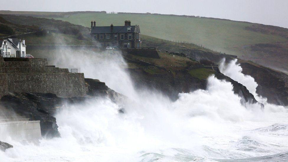 Хвилі в графстві Корнуолл, Великобританія