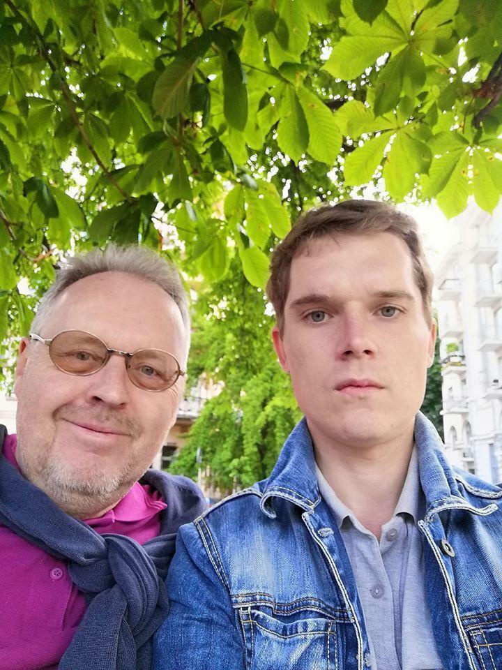 Погибший в Киеве курьер Glovo и его отец