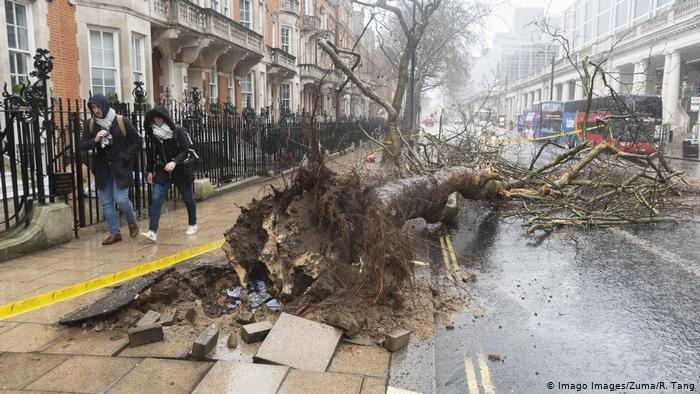 Ураган у Лондоні