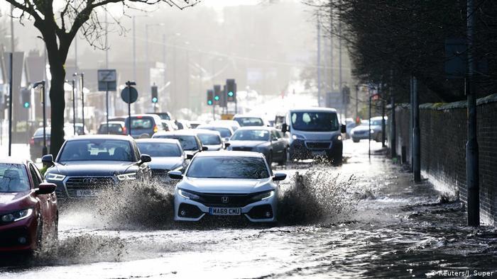 Наслідки урагану: повінь у Манчестері